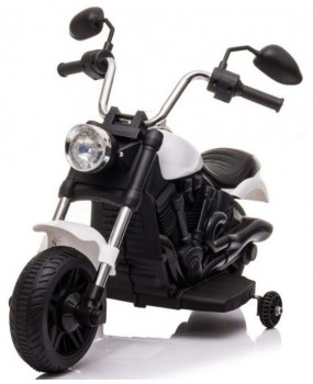 Elektrická motorka Chopper V-Max biela